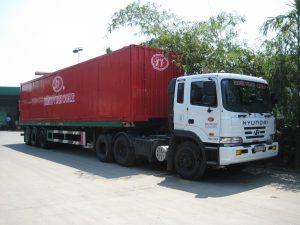 Vận tải hàng đi các tỉnh miền tây