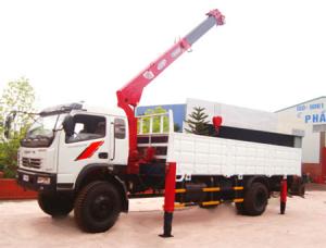 Cho thuê xe cẩu tự hành từ 1-15 tấn